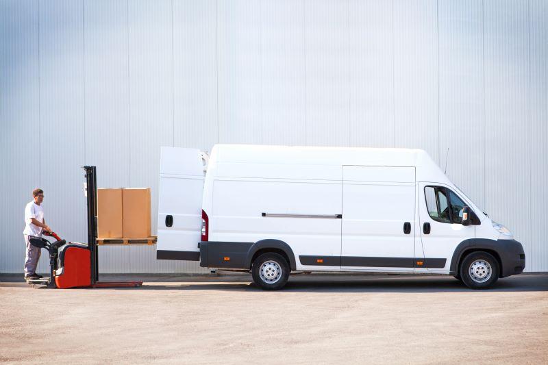 custom van shelving