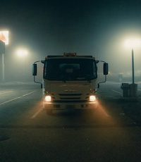 truck headlights