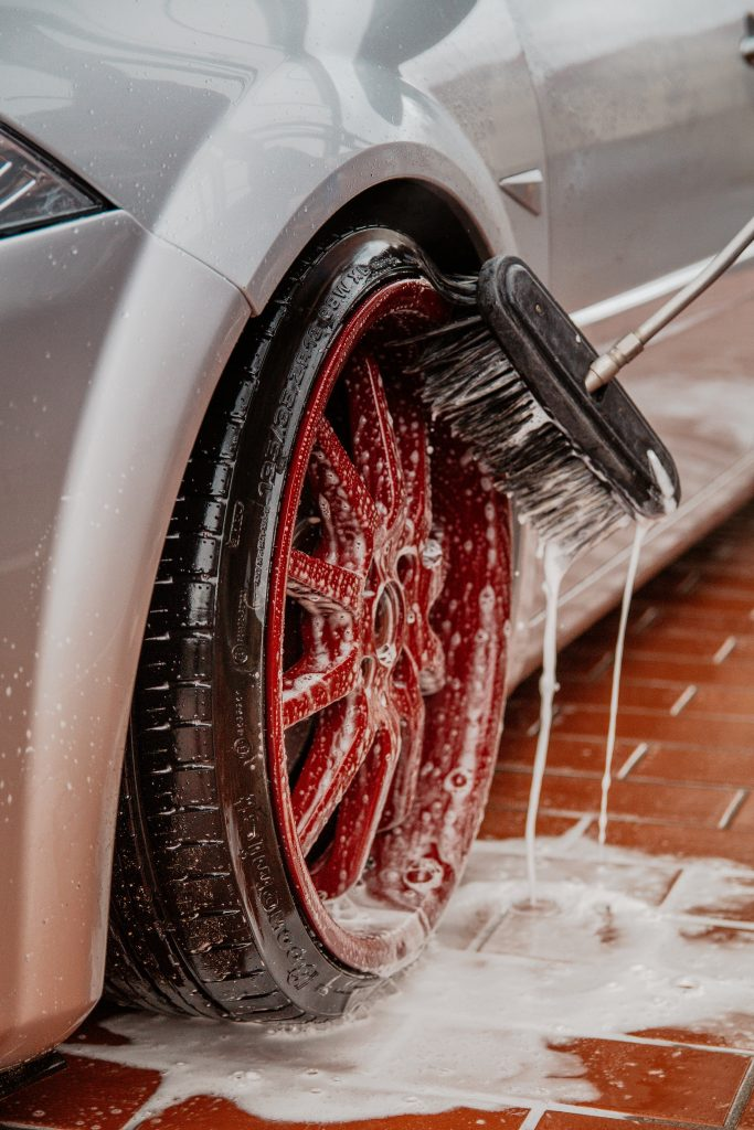 disinfecting a vehicle