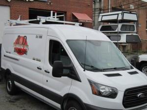 Commercial Van Shelving in Delaware
